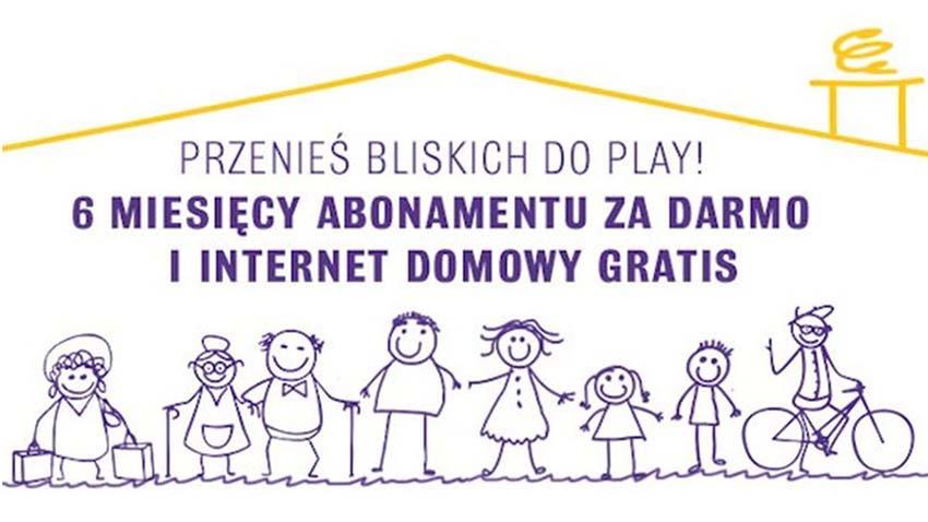 Promocja Play: Pół roku abonamentu za darmo