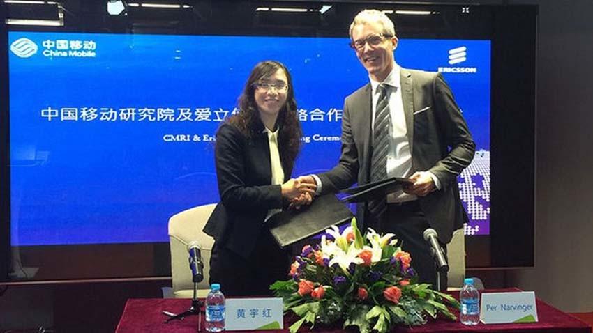 Ericsson i China Mobile prowadzą prace nad 5G