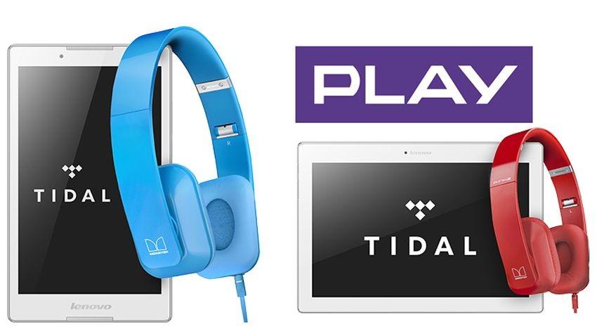 Play: Gratisowe słuchawki z tabletami Lenovo