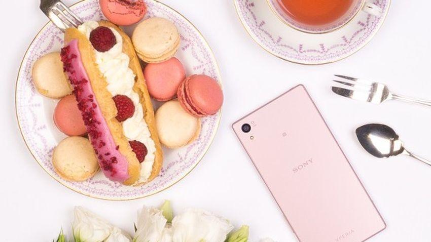 Różowa Sony Xperia Z5