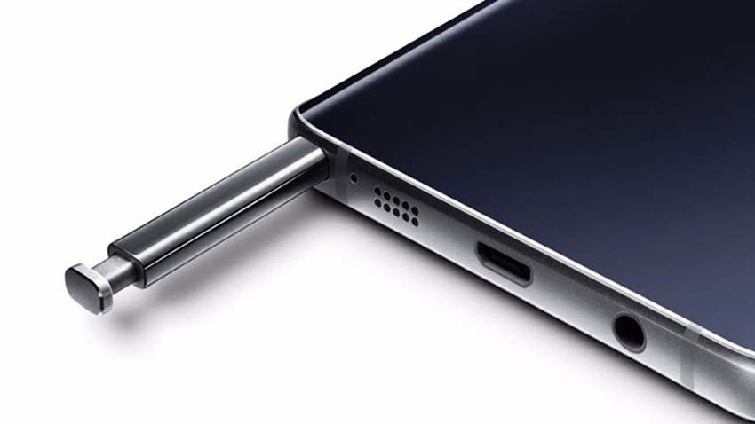 Samsung rozwikłał problem kłopotliwego rysika w Galaxy Note 5