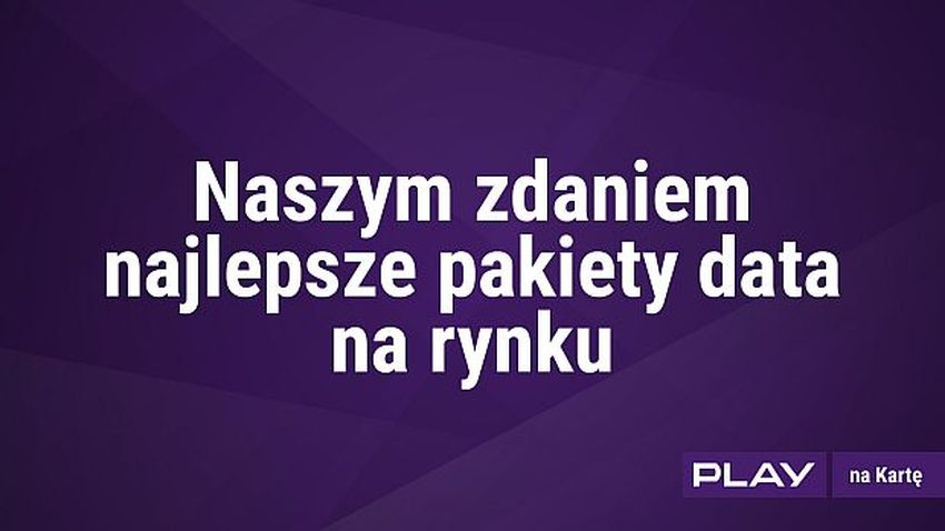 Photo of Nowe paczki Internetu w Play na kartę