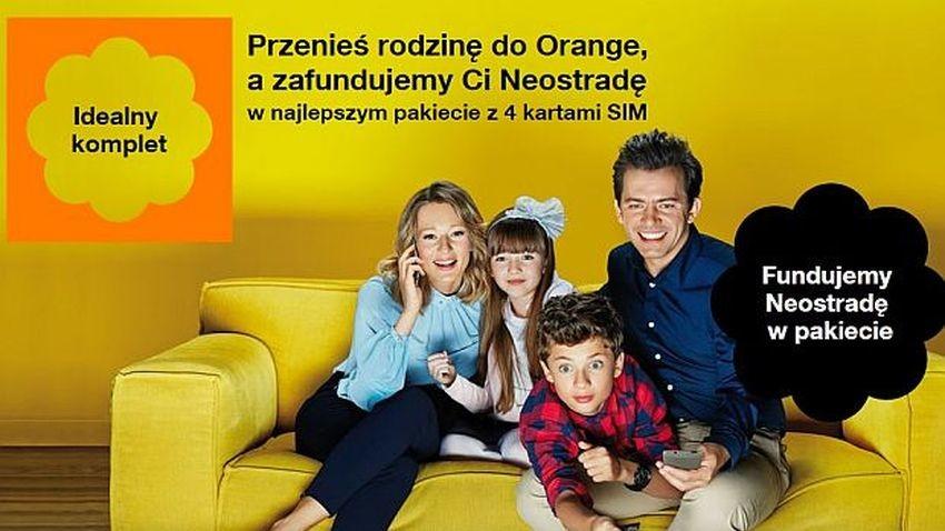 Orange poszerza ofertę promocyjną planów abonamentowych. Atrakcyjny bonus na Neostradę