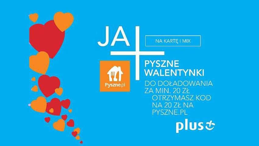 Promocja Plus: Kod do Pyszne.pl za doładowanie