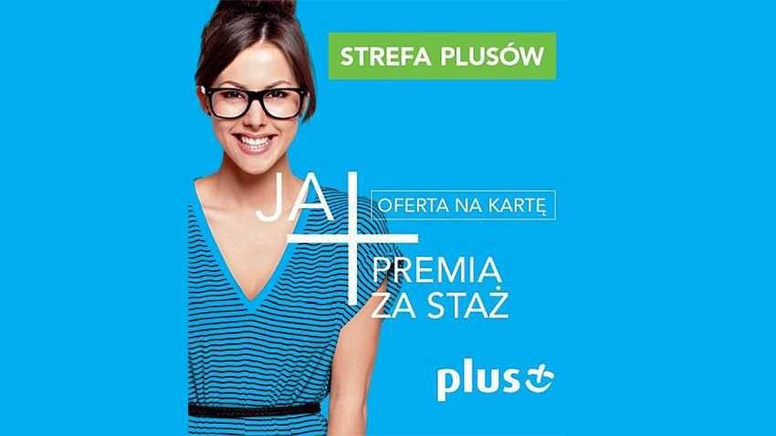 Promocja Plus: Premia za staż