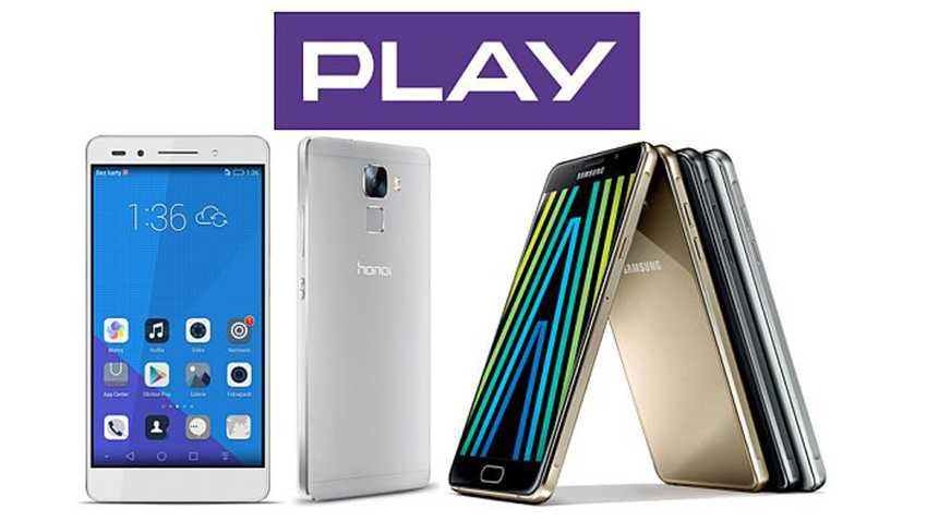Honor 7 i seria Galaxy A (2016) w Play