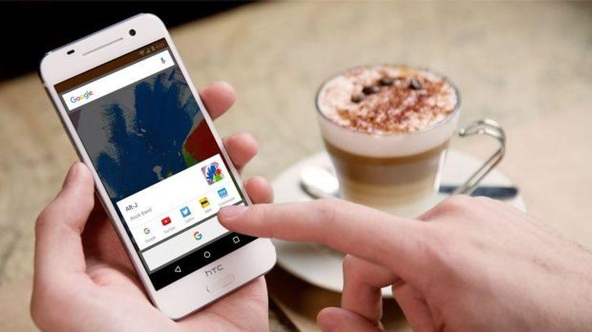 HTC One M10 pokazany na pierwszym zdjęciu