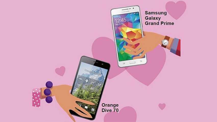 Promocja Orange: Walentynkowy zestaw smartfonów