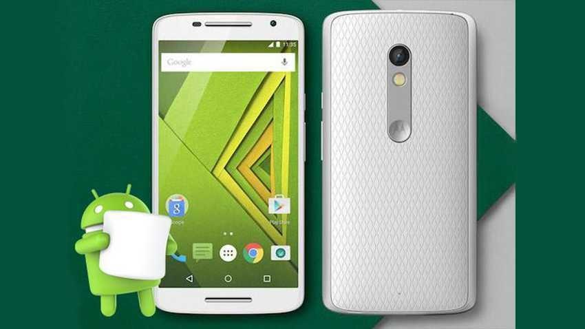 Lenovo udostępnia aktualizację do Androida Marshmallow dla Moto X Play
