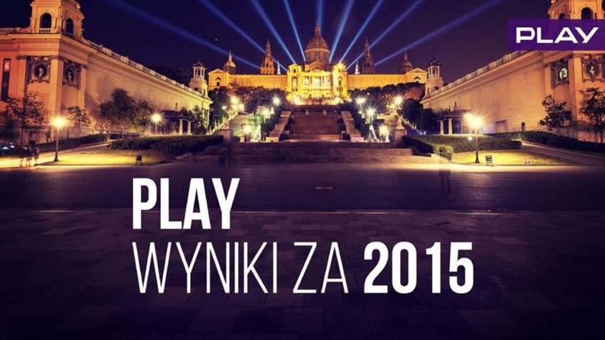 Wyniki Play w 2015 roku