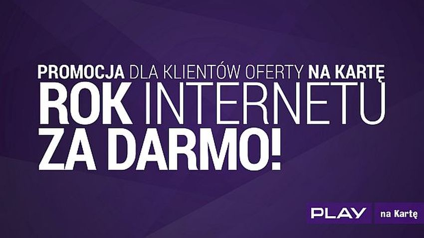 Photo of Promocja Play: Rok Internetu za darmo