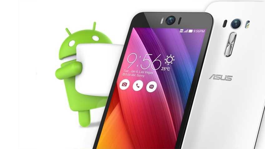 Smartfony Asusa z aktualizacją do Androida Marshmallow
