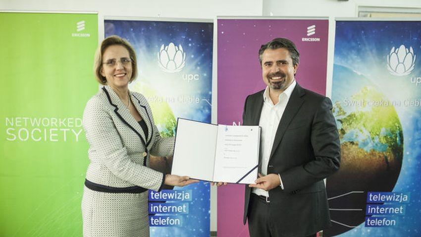 Ericsson nawiązuje współpracę z UPC Polska