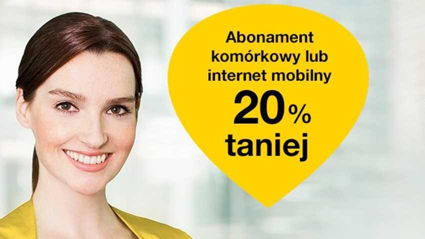 Promocja Orange: Rabat na abonament komórkowy lub Internet mobilny