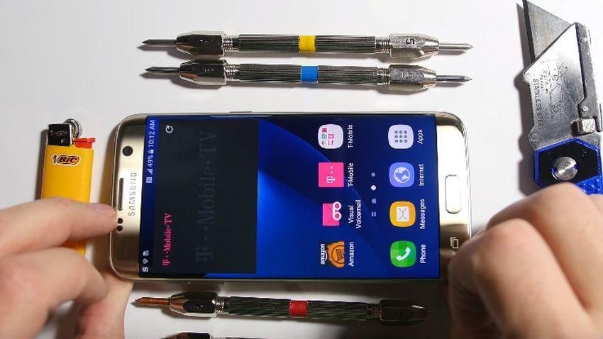 Samsung Galaxy S7 Edge w teście wytrzymałości