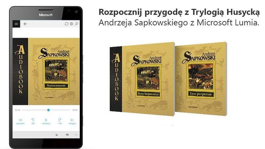 Powieści Sapkowskiego na smartfonach Lumia
