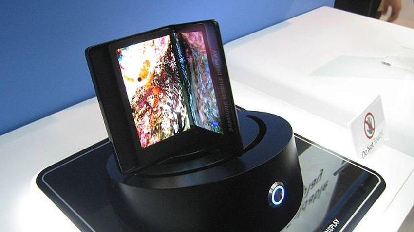 Projekt składanego smartfona Samsunga