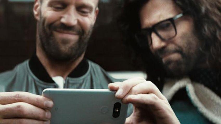 Photo of Jason Statham w reklamach LG G5