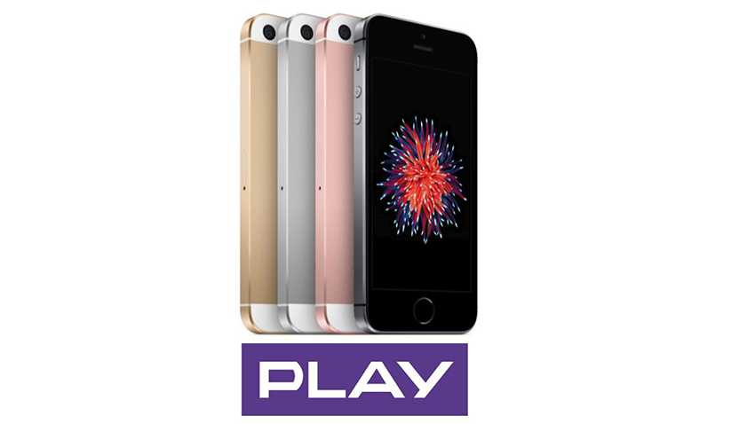 Photo of iPhone SE w Play