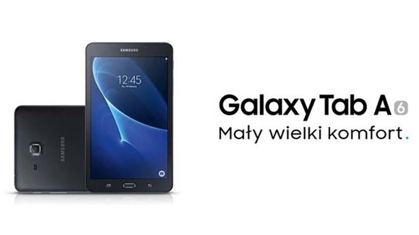Tabletowa oferta Samsunga poszerza się o nowy model z rodziny Galaxy Tab A (2016)