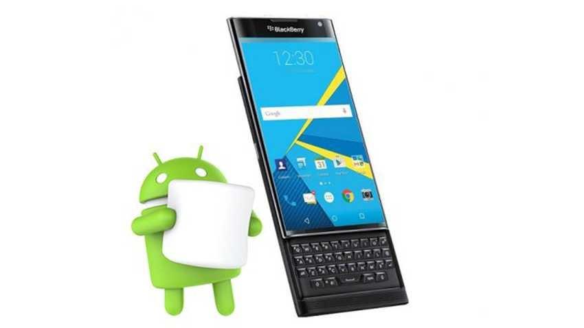 Android Marshmallow dla BlackBerry Priv kwestią tygodni