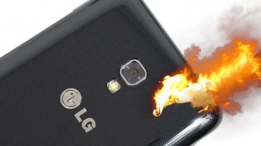 Mężczyzna pozywa LG za wybuch smartfona
