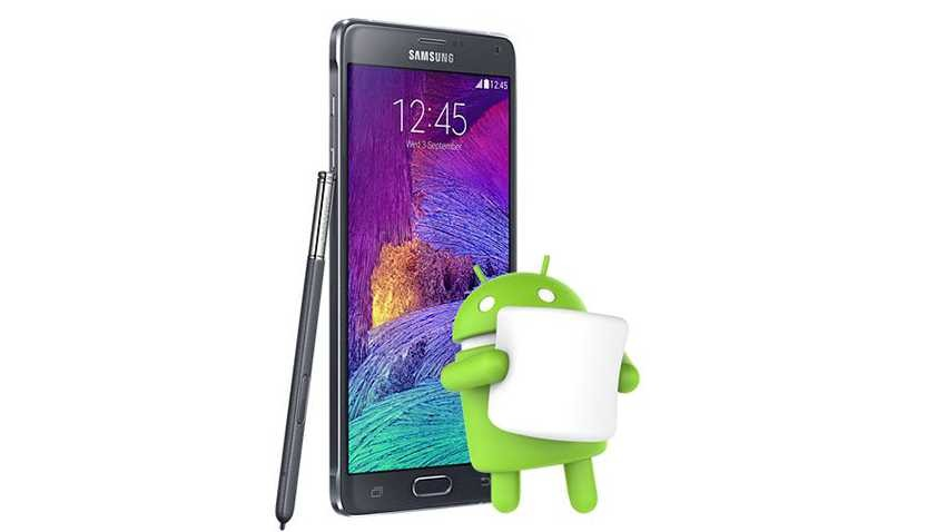 Samsung Galaxy Note 4 otrzymuje Androida Marshmallow