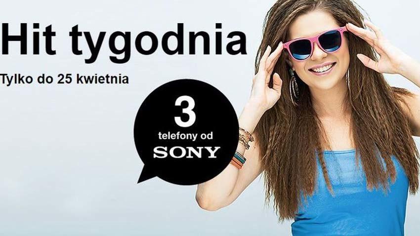 Promocja Orange: Sony Xperia w Hicie Tygodnia
