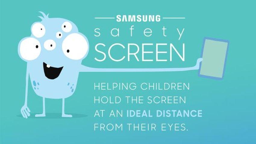 Samsung Safety Screen pomoże chronić wzrok