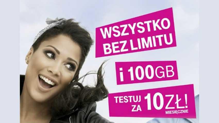 T-Mobile: 100 GB i no limit za 10 zł dla przenoszących numer