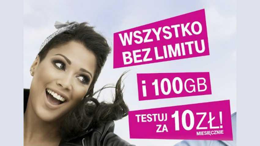 Photo of T-Mobile: 100 GB i no limit za 10 zł dla przenoszących numer