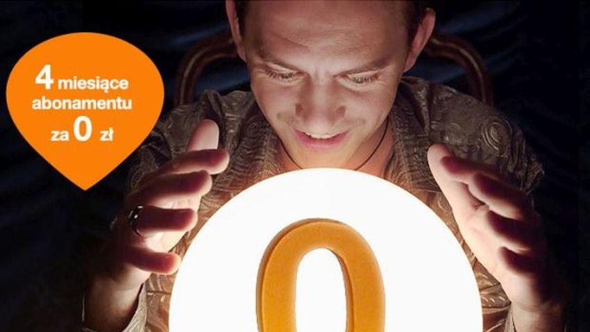 Promocja Orange: Internet mobilny za 0 zł