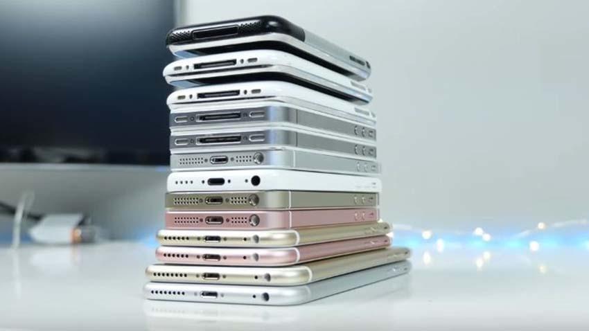 iPhone'y w teście wydajności