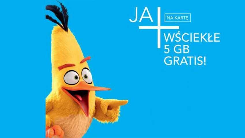 Promocja Plus: 5 GB gratis