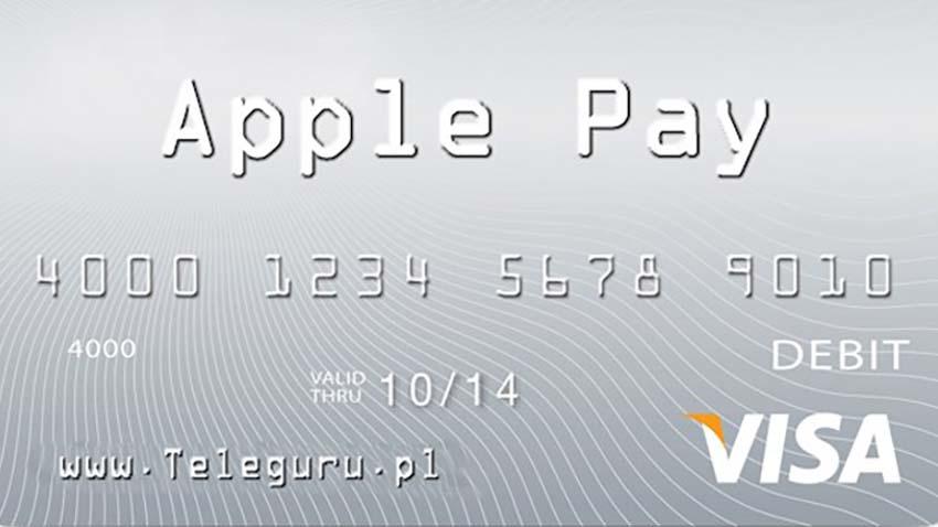 Elektroniczny portfel Apple Pay: Visa już gotowa