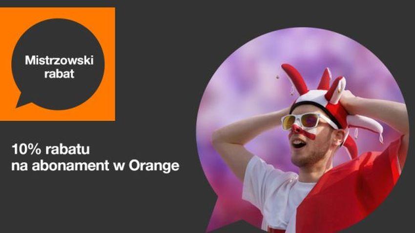 Photo of Promocja Orange: 10% rabatu na abonament