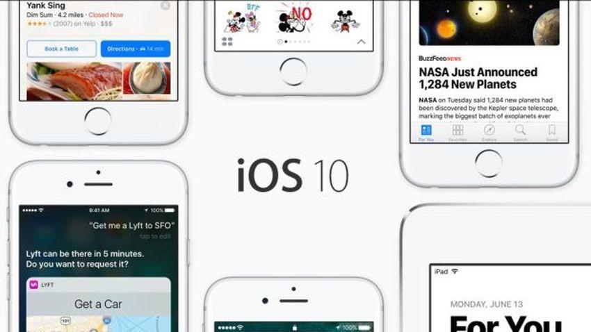 iOS 10 - większa integracja Siri