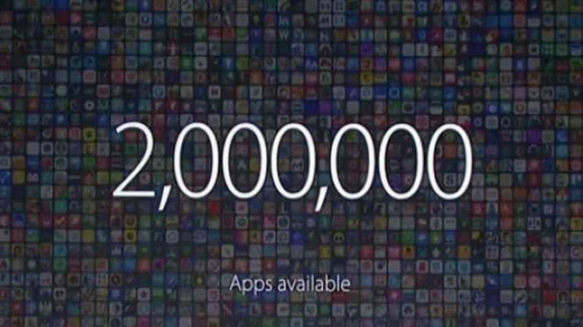 2 miliony aplikacji w Apple App Store