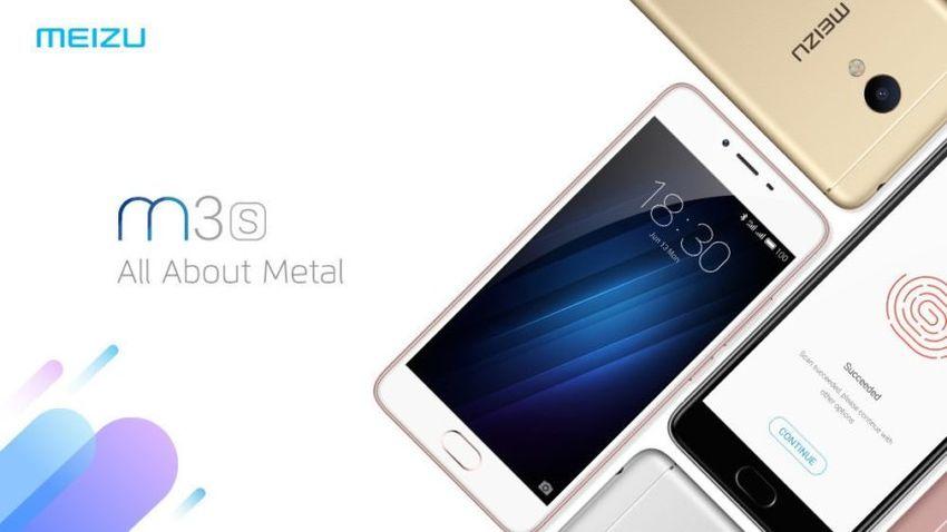Meizu M3S - chińska nowość w metalowej obudowie i z czytnikiem linii papilarnych