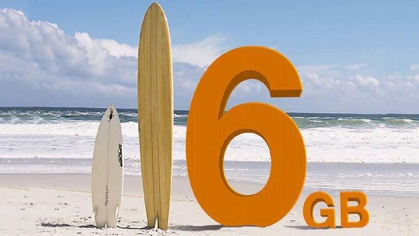 Promocja Orange: 6 GB na wakacje