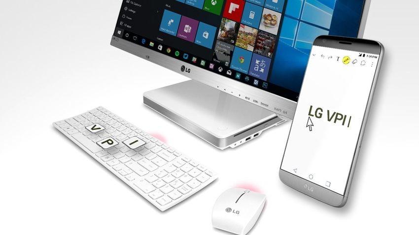 LG VPInput pozwala kontrolować smartfona za pomocą komputera