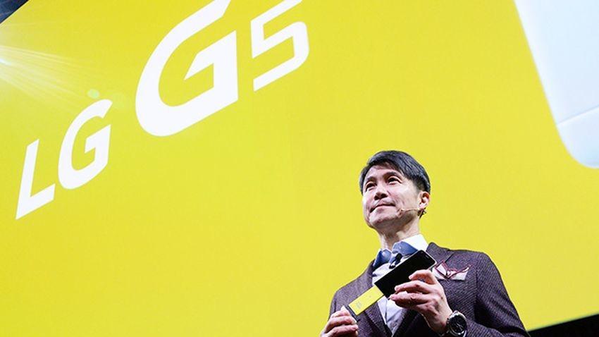 LG G5 sprzedaje się poniżej oczekiwań