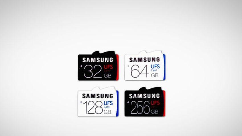 Samsung ujawnia ultraszybkie karty pamięci UFS
