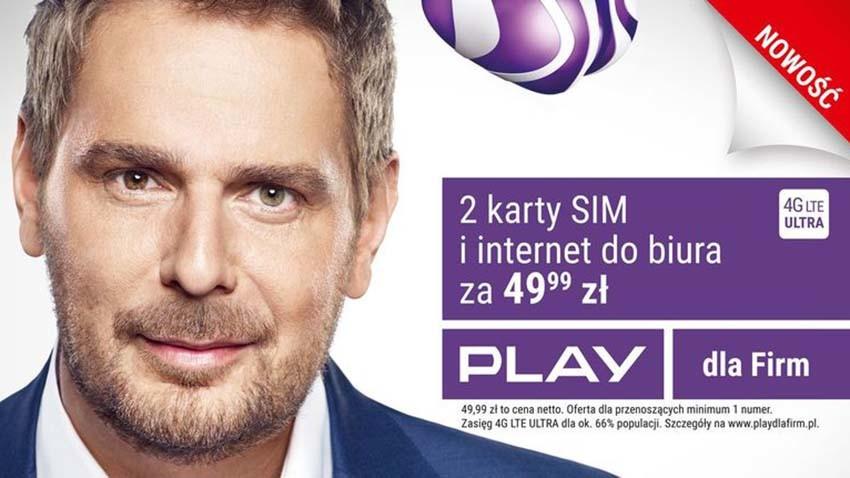 Wojciech Modest Amaro reklamuje Formułę Biznes Box