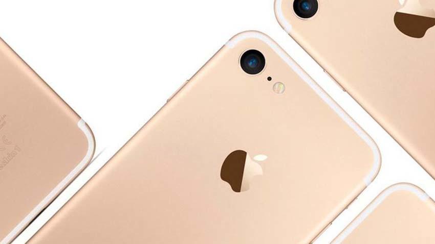iPhone 7 w czterech kolorach na zdjęciu