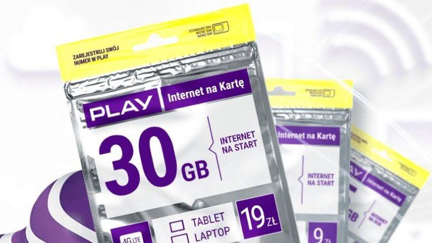 Nowy Internet na kartę w Play