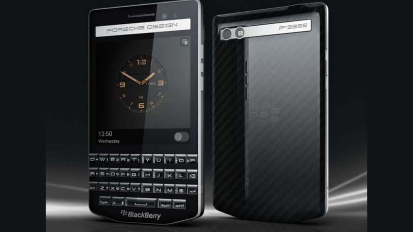 Photo of BlackBerry w stroju Porsche