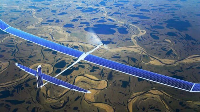 Drony dostarczą Internet od Google'a i Facebooka