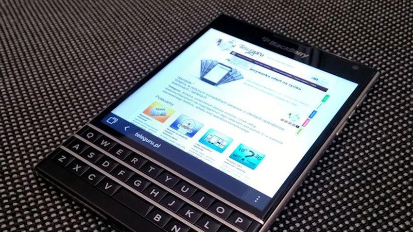 Pierwsze wrażenia: BlackBerry Passport