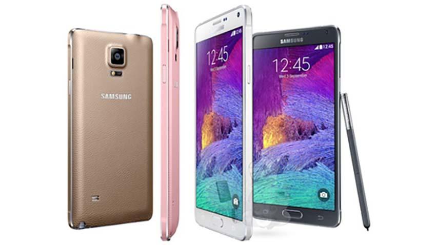 Samsung rozpoczął sprzedaż Galaxy Note 4